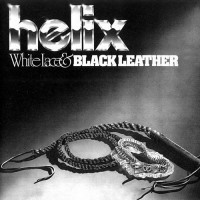 HELIX - White Lace & Black Leather