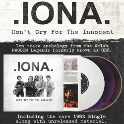 IONA - Don't Cry For The Innocent Vinyl