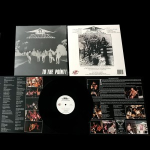IRONHAWK - To The Point! Black Vinyl