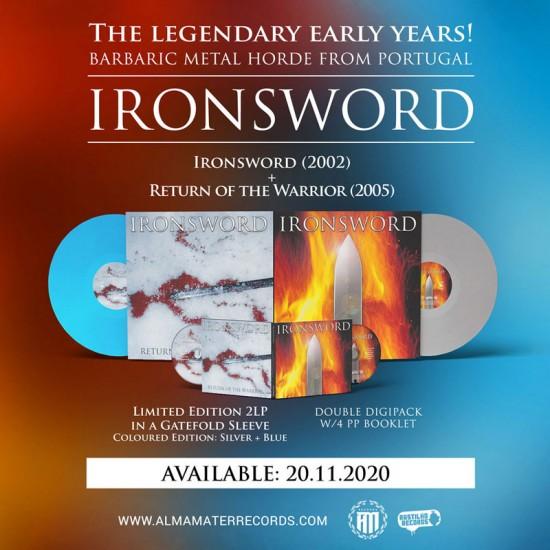 IRONSWORD - Ironsword / Return Of The Warrior DigiCD