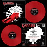 KARRIER - Way Beyond The Night Red Vinyl