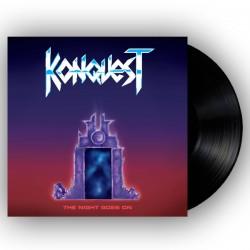 KONQUEST - The Night Goes On Black Vinyl LP