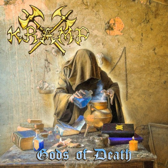 KRAMP - Gods Of Death Black Vinyl LP