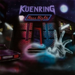 KÜENRING - Neon Nights Purple Vinyl  LP