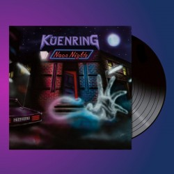 KÜENRING - Neon Nights Black Vinyl  LP