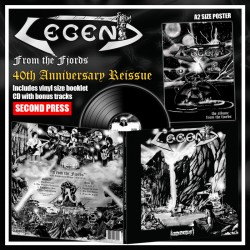 LEGEND - From The Fjords Black Vinyl +5 Bonus