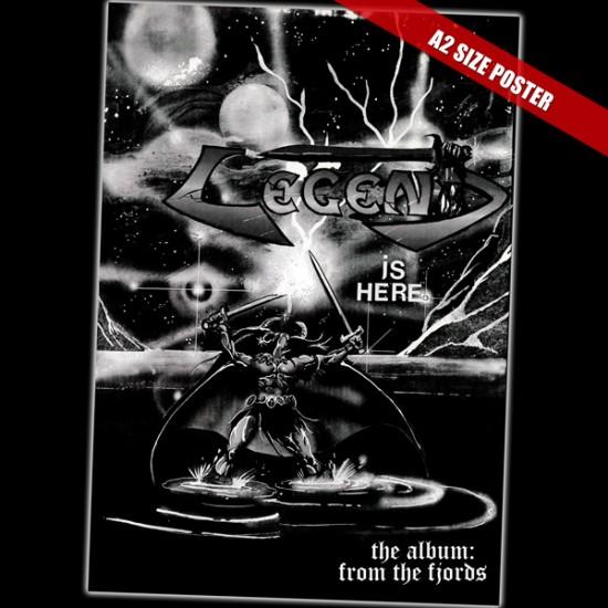 LEGEND - From The Fjords Silver Vinyl +5 Bonus Gatefold LP