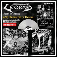 LEGEND - From The Fjords Silver Vinyl +5 Bonus (Pre Order)