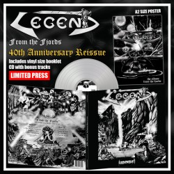 LEGEND - From The Fjords Silver Vinyl +5 Bonus