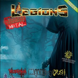 LEGIONS FANZINE - Issue 5 + ARRAYAN PATH CD Fanzine