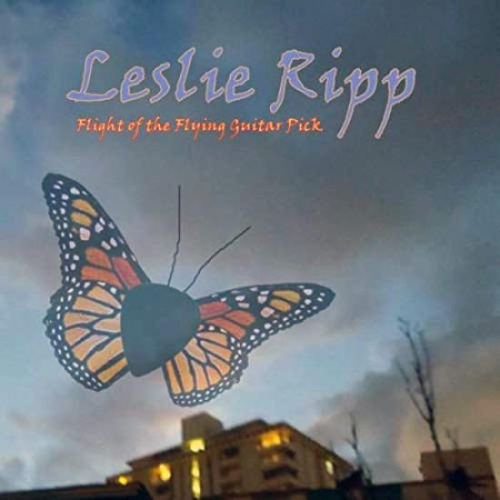 LESLIE RIPP - Flight Of The Flying Guitar Pick CD