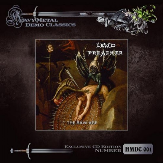 LEWD PREACHER - The Raw Age CD