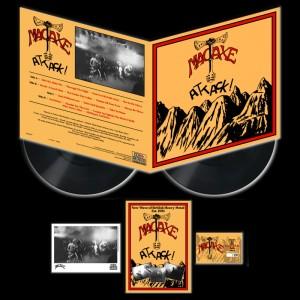 MACAXE - Attack! Vinyl (Pre-Order)