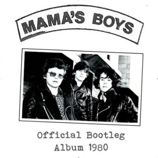 MAMA'S BOYS - Official Bootleg Album 1980 CD