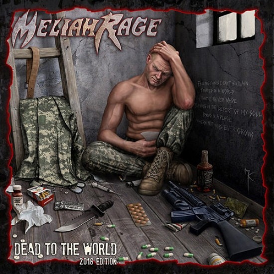 MELIAH RAGE - Dead To The World CD