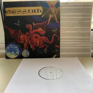MESSIAH - Final Warning Vinyl (TEST PRESS)