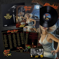 MIDNIGHT PRIEST - Aggressive Hauntings Black Vinyl LP
