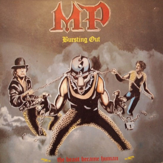 MP - Bursting Out (The Beast Became Human) Black Vinyl LP
