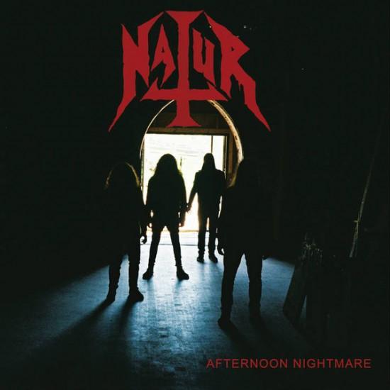 NATUR - Afternoon Nightmare + Sticker CD