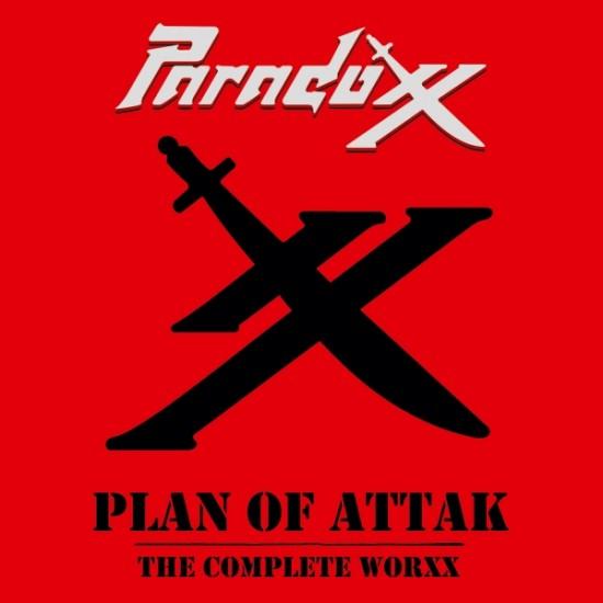 PARADOXX - Plan Of Attak (The Complete Worxx) Black Vinyl LP
