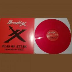 PARADOXX - Plan Of Attak (The Complete Worxx) Red Vinyl  LP