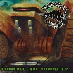 POTENTIAL THREAT SF - Threat To Society CD