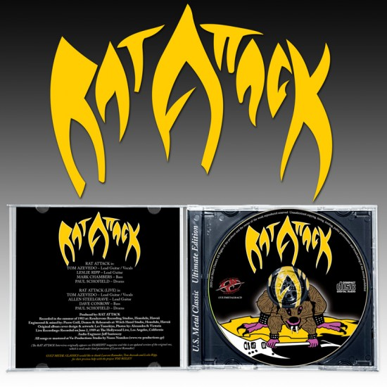 RAT ATTACK - Rat Attack CD