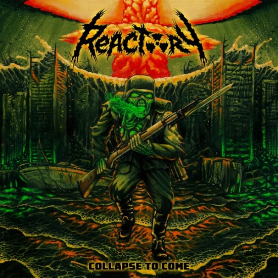 REACTORY - Collapse To Come CD