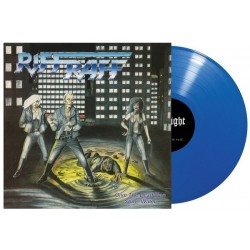 RIFF RAFF - Give The Dead Man Some Water Blue Vinyl LP