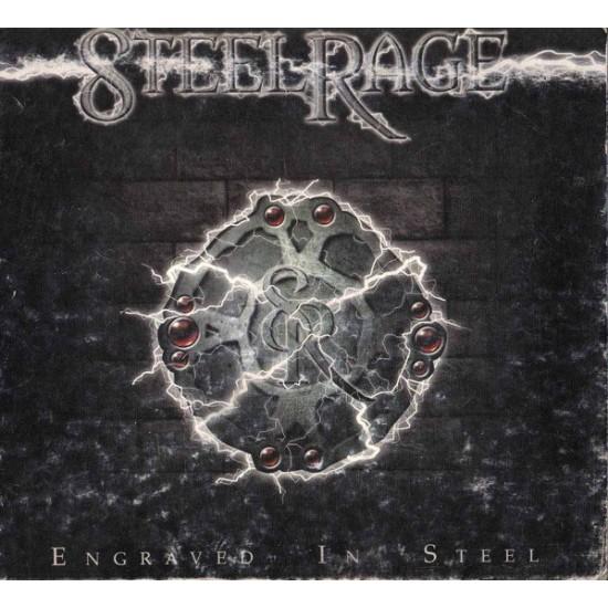STEELRAGE - Engraved In Steel CD