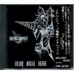 METALUCIFER - Heavy Metal Drill CD