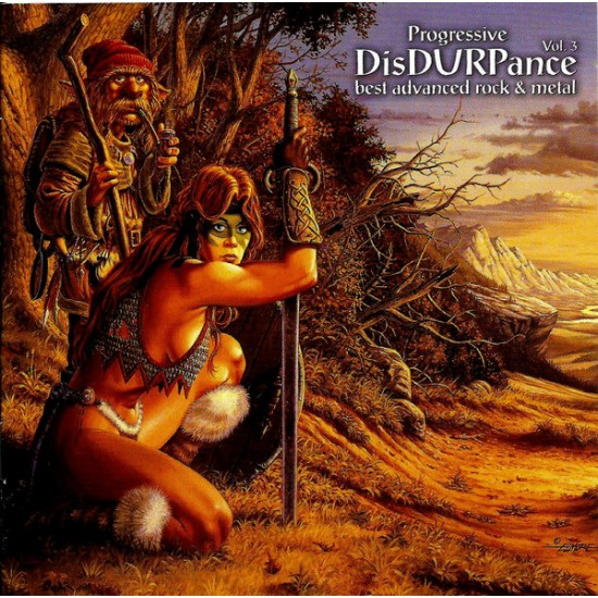 VARIOUS - Progressive DisDURPance Vol. 3 CD