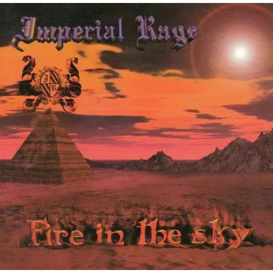 IMPERIAL RAGE - Fire In The Sky CD