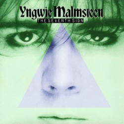 YNGWIE J. MALMSTEEN'S RISING FORCE - The Seventh Sign CD