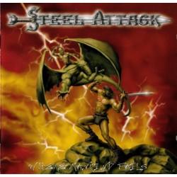 STEEL ATTACK - Where Mankind Fails CD