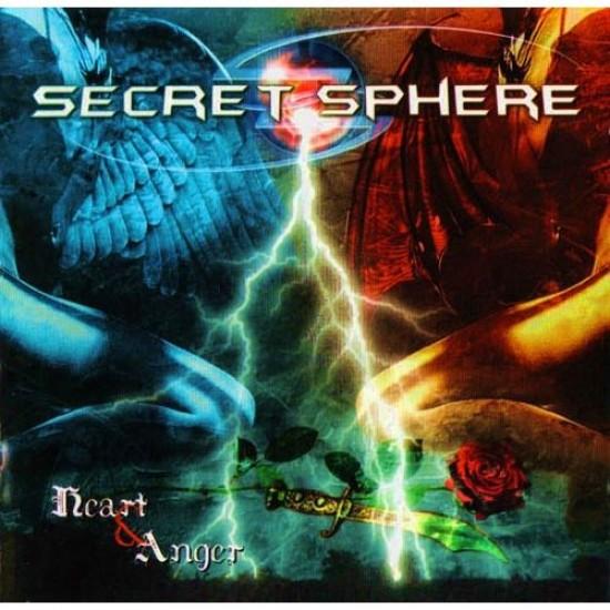 SECRET SPHERE - Heart & Anger CD