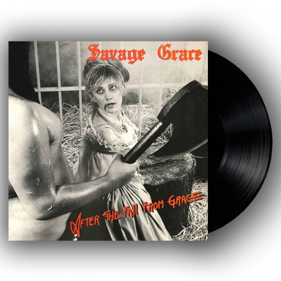 SAVAGE GRACE - After The Fall From Grace Black Vinyl LP