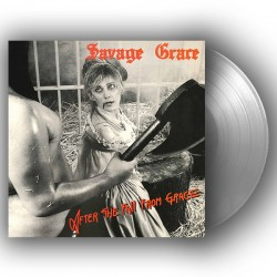SAVAGE GRACE - After The Fall From Grace Silver Vinyl LP