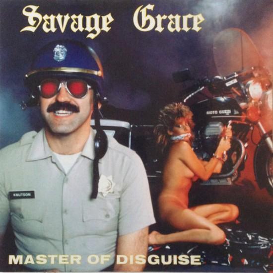 SAVAGE GRACE - Master Of Disguise Black Vinyl LP