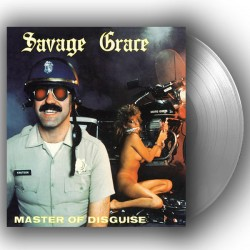 SAVAGE GRACE - Master Of Disguise Silver Vinyl LP