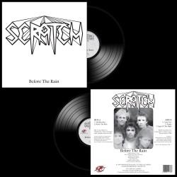 SCRATCH - Before The Rain Black Vinyl