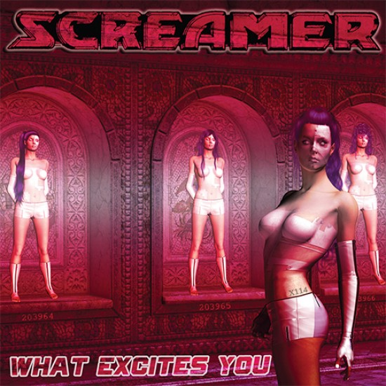 SCREAMER - What Excites You CD