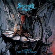 SEVENTH ANGEL - Lament For The Weary (Blue Vinyl) USED LP