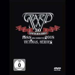 SPARTO - 30 Aniversario / 1988 En Directo 2018 / Victimas, Heroes CD+DVD