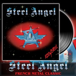 STEEL ANGEL - Kiss Of Steel Vinyl (Pre-Order)