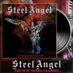 STEEL ANGEL - ...And The Angels Were Made Of Steel Vinyl