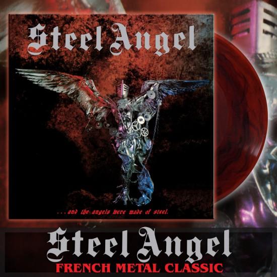 STEEL ANGEL - ...And The Angels Were Made Of Steel Vinyl LP