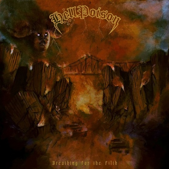 HELL POISON - Breathing For The Filth CD