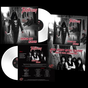 TANTRUM - Trenton City Murders Transparent White Vinyl