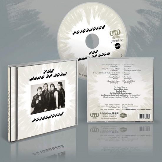 THE HAND OF DOOM - Poisonoise CD